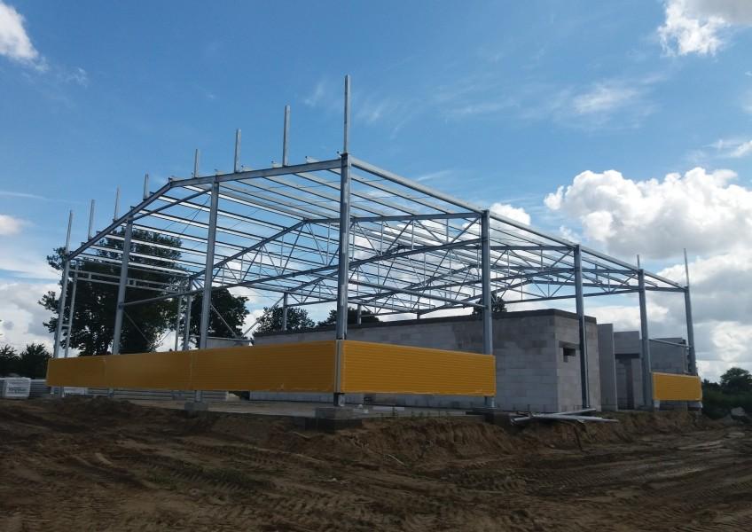 Budowa hali usługowej