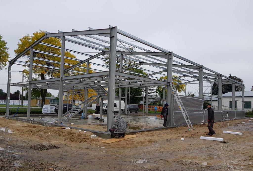Zupełnie nowe Konstrukcje stalowe, hale, budynki stalowe | dystrybutor SOLID HALE WR76